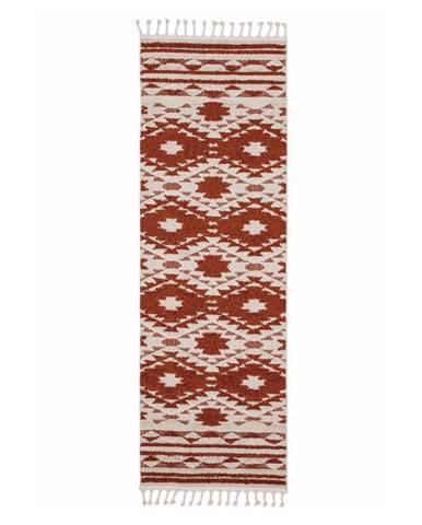 Oranžový koberec Asiatic Carpets Taza, 80 x 240 cm