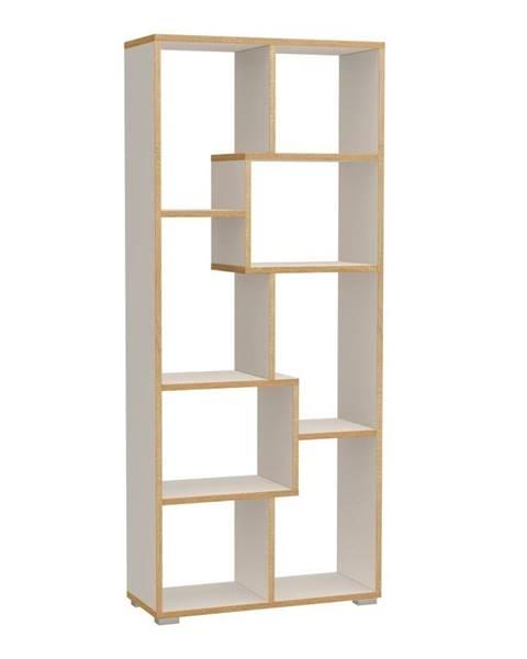 Tomasucci Knižnica Tomasucci Random Andrea, 160×69×27,5 cm