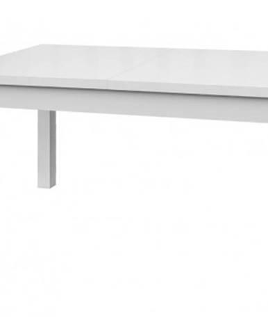 Jedálenský stôl Adam 120x80 cm, biely, rozkládací%