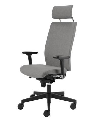 Kancelárska stolička CONNOR sivá