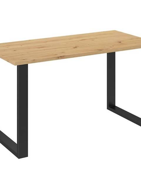 MERKURY MARKET Jedálenský stôl Imperial  138x67 dąb artisan