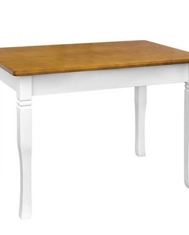 Jedálenský stôl  Mars biely+ dub 100X60