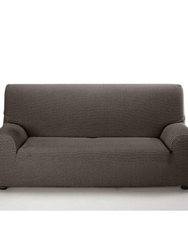 Forbyt Multielastický poťah na sedaciu súpravu Sada hnedá, 140 - 200 cm