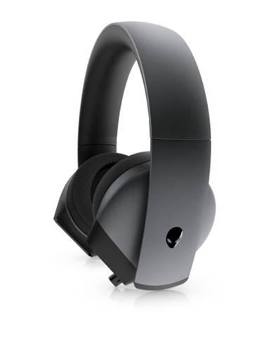 Herné slúchadlá DELL Alienware AW510H, mikrofón, drôtová, čierna
