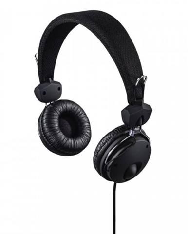 On-ear slúchadlá s mikrofónom Hama Fun4Phone, čierne