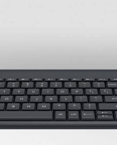 Logitech Wireless Touch Keyboard K400 Plus NEKOMPLETNÉ PŘÍSLUŠENS