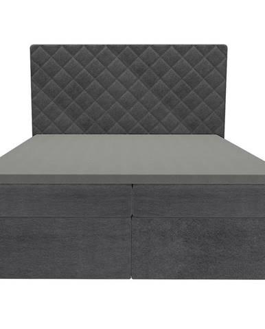 Posteľ Hera 160x200 Monolith 97 s vrchným matracom
