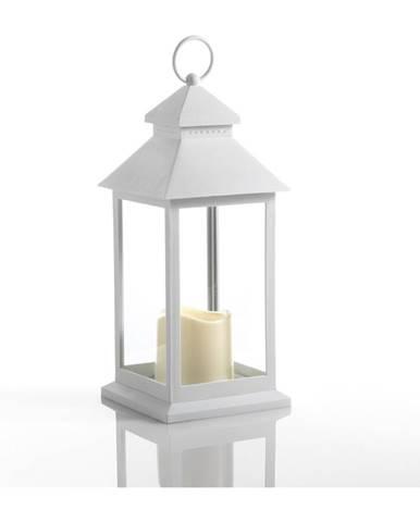 Veľký biely dekoratívny LED lampáš vhodný do exteriéru Tomasucci Lante