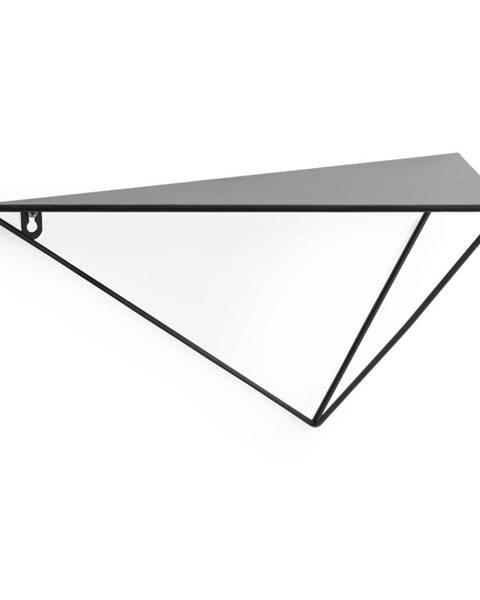 La Forma Čierna polica La Forma, výška 20 cm
