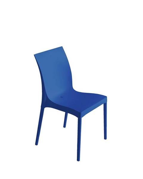 Möbelix Plastová Stolička Eset Modrá