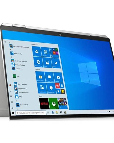 HP Notebook HP Spectre x360 14-ea0002nc strieborný