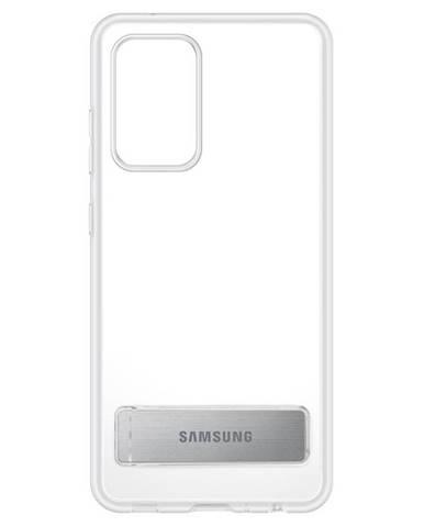 Kryt na mobil Samsung Clear Standing na Galaxy A52 priehľadný