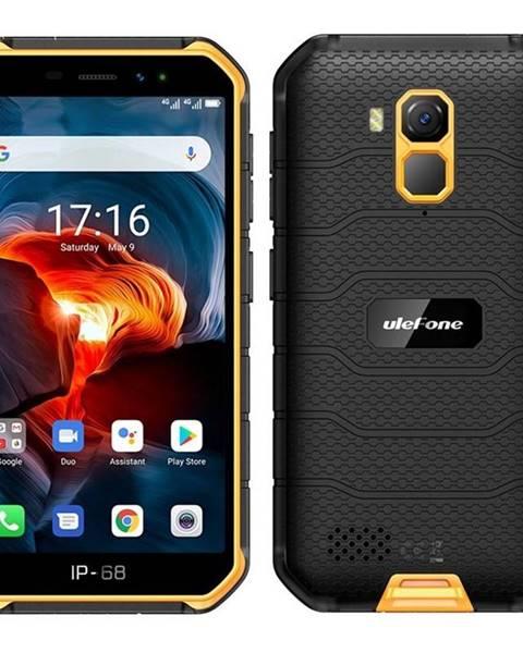 UleFone Mobilný telefón UleFone Armor X7 PRO čierny/oranžový