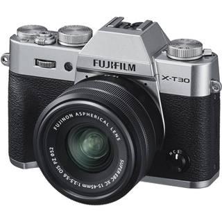 Digitálny fotoaparát Fujifilm X-T30 + XC15-45 mm strieborn