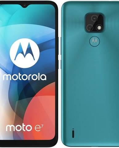 Mobilný telefón Motorola Moto E7 modrý