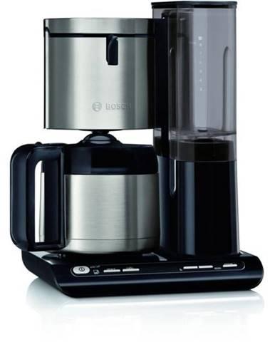 Kávovar Bosch Tka8a683 čierny/nerez