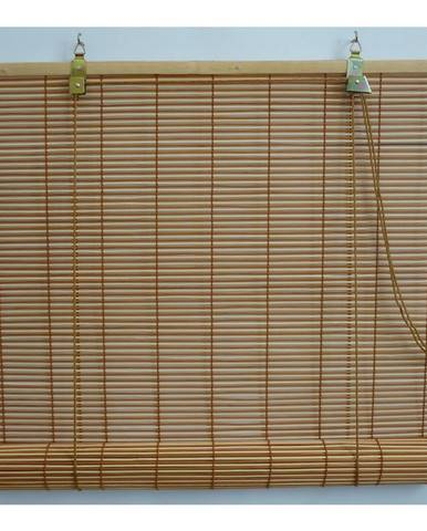 Gardinia Roleta bambusová prír./čerešňa, 140 x 160 cm