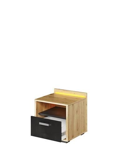 Dig-net nábytok Nočný stolík QUBIC QB-10