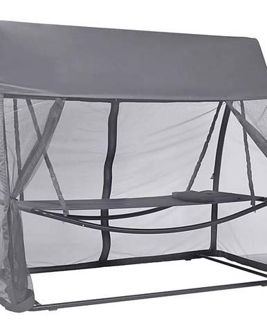 Hojdacia sieť so sieťkou proti komárom šedá