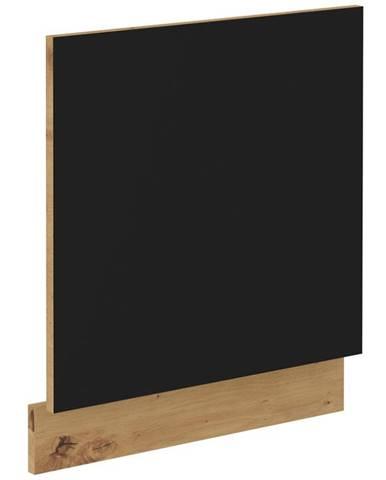 Skrinka do kuchyne Modena  front zm 570x596 čierna/dub artisan