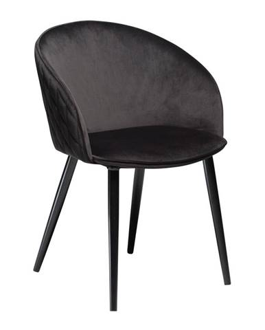 Čierna stolička DAN-FORM Denmark Dual