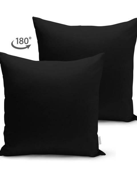 Minimalist Cushion Covers Čierna obliečka na vankúš Minimalist Cushion Covers, 45 x 45 cm