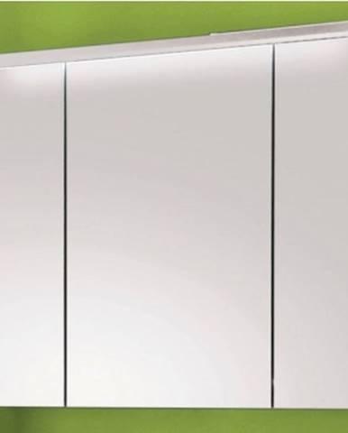 Kúpeľňová skrinka so zrkadlom Splash, s osvetlením, biela%