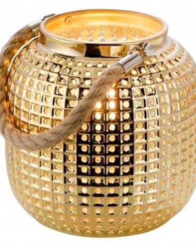 Stolná lampa v optike lucerny Bola 50770145, zlatá%
