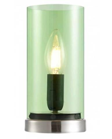 Stolná lampa Laik, zelené sklo%