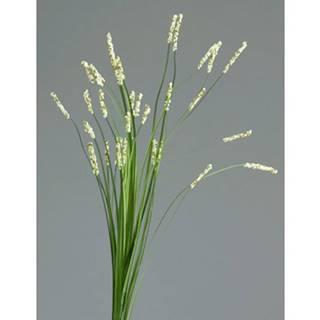 Umelá kvetina Tráva 70 cm, krémová%