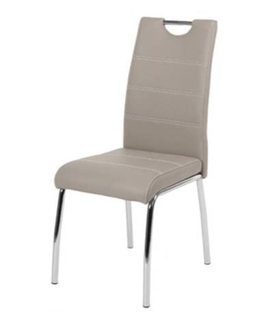 Jedálenská stolička NOEMI hľuzovková/kov
