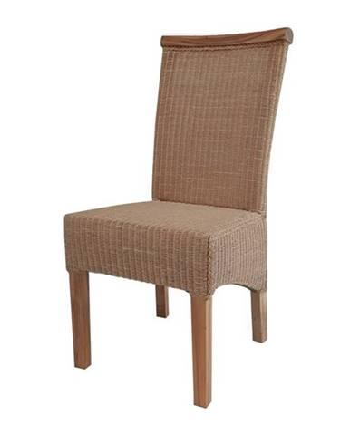 Jedálenská stolička PERTH LOOM prírodná/loom