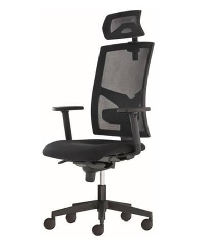 Kancelárska stolička PAIGE čierna