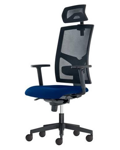 Kancelárska stolička PAIGE modrá