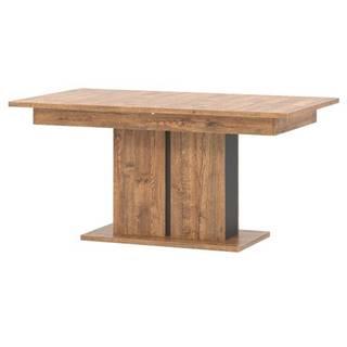 Jedálenský stôl RIAN dub/čierna
