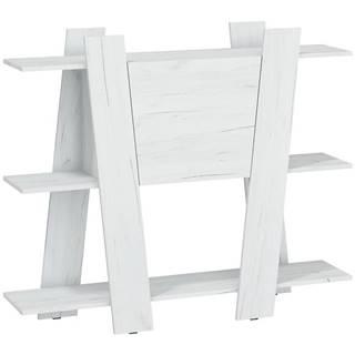 Regál Via 130-2D Craft Biely