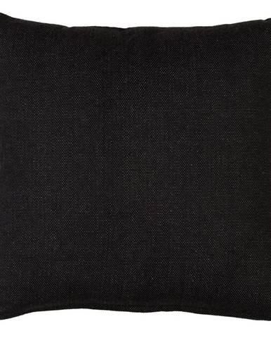 Dekoračný Vankúš Chris, 50/50cm, Čierna
