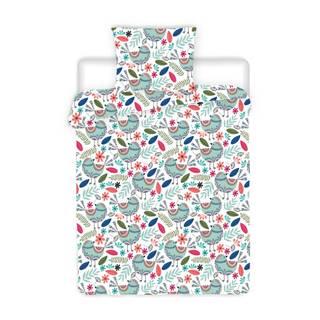 4Home Krepové obliečky Birds, 140 x 200 cm, 70 x 90 cm