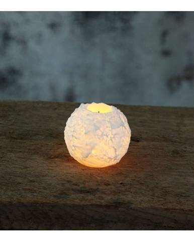 LED sviečka Best Season Snowta, výška 6,5 cm