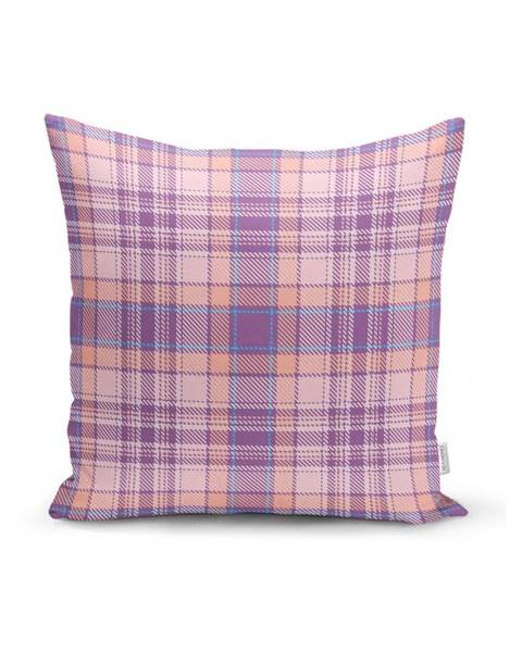 Minimalist Cushion Covers Ružovo-fialová dekoratívna obliečka na vankúš Minimalist Cushion Covers Flannel, 35 x 55 cm