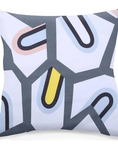 Súprava 2 obojstranných obliečok na vankúš DecoKing Insanity, 40×40cm