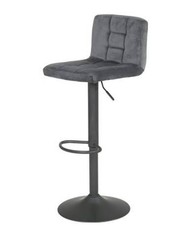 Barová stolička AMANDA II H sivá