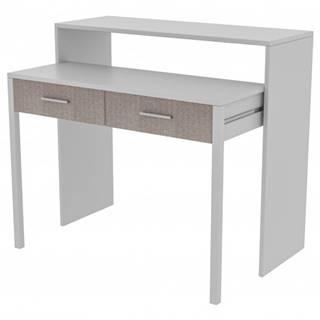 Písací stôl MY biela