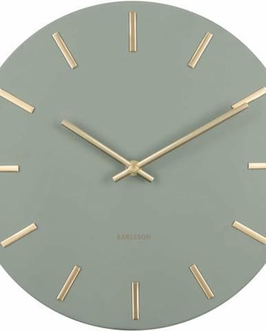 Karlsson 5821DG dizajnové nástenné hodiny, pr. 30 cm