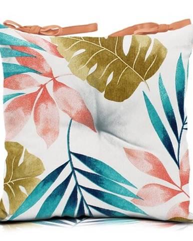 Domarex Sedák Pink Leaves, 45 x 45 cm