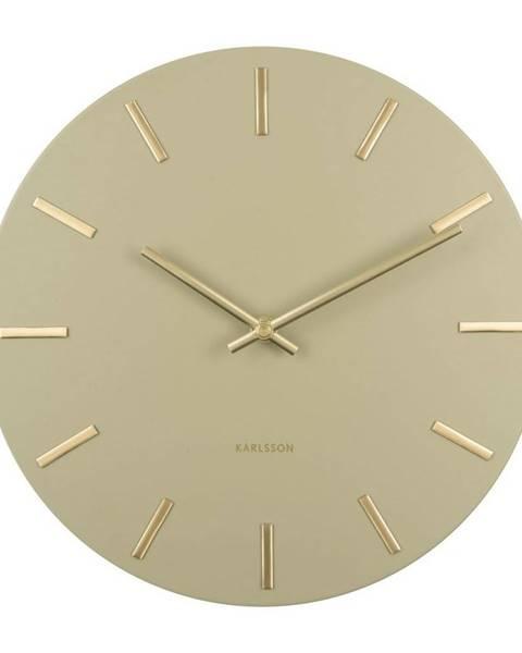 Karlsson Karlsson 5821OG dizajnové nástenné hodiny, pr. 30 cm