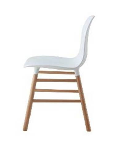 ArtKing Jedálenská stolička IKAR biela