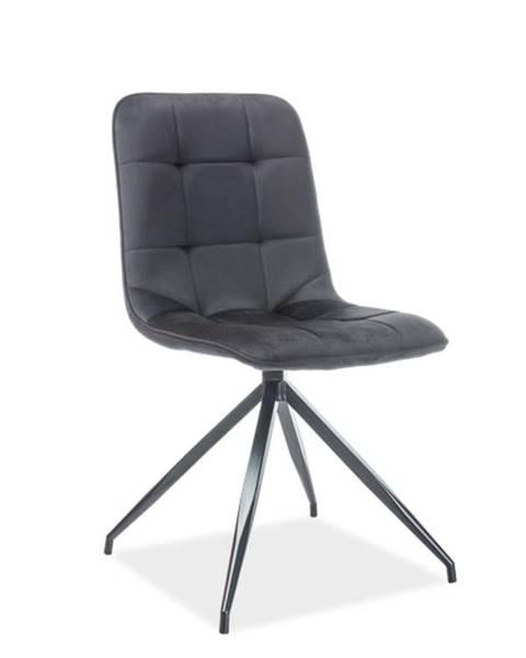 Signal Signal Jedálenská stolička Texo Velvet