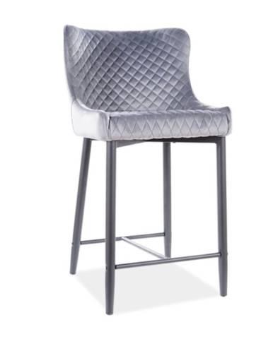 Signal Barová stolička COLIN B H-2 Velvet