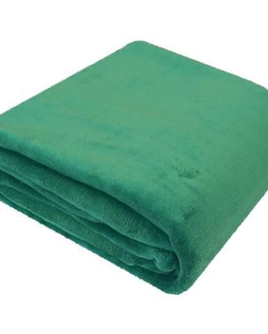 Deka zelený 150x200